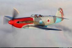 Photo taken at In Flight in New Zealand on May Ww2 Aircraft, Fighter Aircraft, Fighter Jets, Russian Military Aircraft, South African Air Force, Experimental Aircraft, Aircraft Pictures, Nose Art, Russian Plane