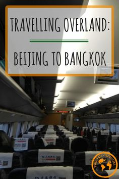 Half the fun of travelling is experience local transport, right!? Maybe not always, but sometimes it can add to the trip what flying takes away in time! Find out how we travelled overland from Beijing to Bangkok!