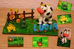animales de granja para moldear - Buscar con Google