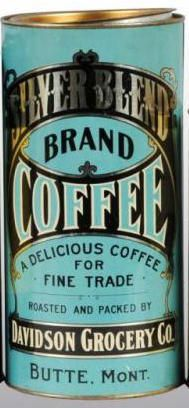 Silver Blend Brand Coffee