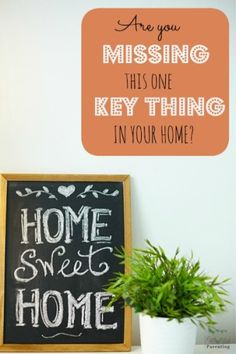 I figured out I was missing this one key thing in my home. Are you? This has made such a difference in our home.