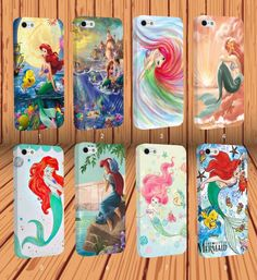 The Little Mermaid for Apple iPhone And Samsung Galaxy Case Cover #NONGCHAO