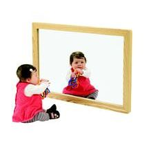 Hardwood Acrylic Wall Mirror