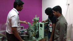 Real Time industrial machiner explanation for process automation project.