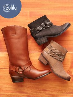 Sign up today to discover Stylish Fall Boots and Booties at prices up to 70% Off! Huge selection with new styles added each and every day! At zulily.com you'll find something special every day of the week!
