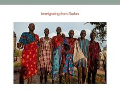 In this WebQuest, students will gain an understanding of the immigration process, especially as it pertains to refugees. They will learn about the Sudan, its history, its people and culture, and relate these findings to a scenario of a refugee student coming to their school.All slides copyrighted to Justine Warunek.