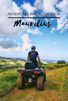 Digging into the heart of Mauritius and discovering the adventure and activity that lies beneath the surface. Here's a list of things to do on the tropical island that you may not have considered.