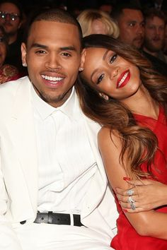 #Rihanna and #Chris #Brown were the talk of the #Grammys - making their first public outing as a couple since reuniting.