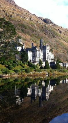 Authentic Ireland Castle Tours will take you to the exquisite neo-Gothic Kylemore Abbey by deloris