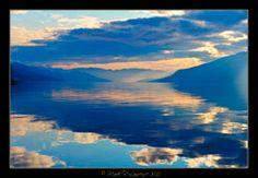 Okanagan Lake, Kelowna,BC, Canada.  beautiful shot