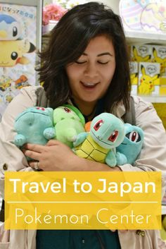 Pokemon MEGA center in Tokyo Japan. Manga anime lovers of Pokemon are at the birthplace of one of the greatest cartoons EVER. Travel to Japan's Pokemon Center location in Osaka and Tokyo for shopping, plushies, magnets, stationary, games and more!