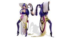 Model DL - TDA Kimono Spade by elina002.deviantart.com on @DeviantArt