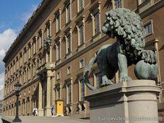 Königlicher Palast in Stockholm in Schweden
