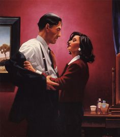 Welcome To My World - Jack Vettriano