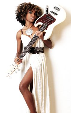 Guitar Girl Magazine Best Female Guitarists, Girl Guitar Player Magazine & Blog » Interview with Nik West; our chat with the bass-player connoisseur, who's collaborated with Prince, John Mayer and more