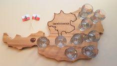 Schnapsbrett OBERÖSTERREICH Triangle, Wooden Platters, Carpentry, Schnapps, Boards, Gifts