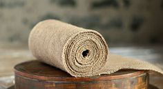 Burlap Table Runner Roll 14 Inch x 10 Yards  for $14.95