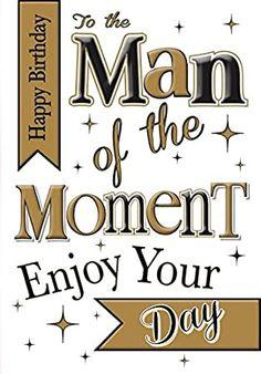 Happy Birthday Man Funny, Birthday Greetings For Men, Happy Birthday Gif Images, Birthday Images For Men, Happy Birthday Best Friend, Man Birthday, Birthday Msgs, Birthday Cards, Birthday Frames