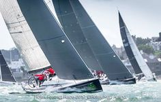 Rolex Fastnet Race 2017<br /> <br /> Start of the IRC 1 ClassMaverick 5, Sail No: GBR 86, Class: IRC One, Owner: Dominic Chappell, Type: Swan 42 Club