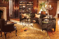 Arhaus. Rug size and positioning