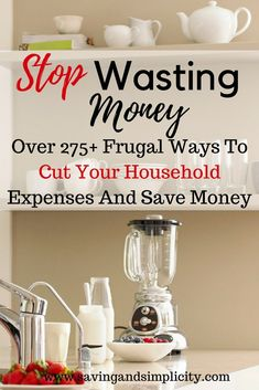 Saving money 469922542366040592 - Frugal living at its best. Learn how to lower your household expenses and start saving money. Learn over 275 frugal living ways to cut your household expenses. Start saving money, stressing less and living more. Source by Living On A Budget, Frugal Living Tips, Frugal Tips, Simple Living, Frugal Family, Household Expenses, Household Budget, Household Income, Save Money On Groceries