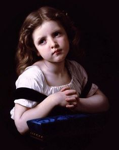 William-Adolphe Bouguereau, la priere.