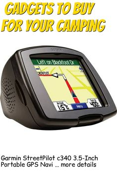 (This is an affiliate pin) Garmin StreetPilot c340 3.5-Inch Portable GPS Navigator