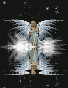 Gif reflections | , Angels, Water Reflections, Reflections, Animated Gifs, Animated Gif ...