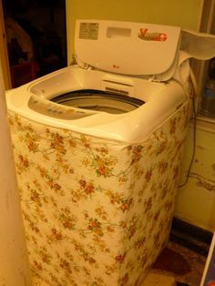 Resultado de imagen para CAPA PA LAVADORAS LG Washing Machine Cover, Laundry, Home Appliances, Sewing, Ideas, Clean Washing Machines, New Ideas, Mantle, Washers