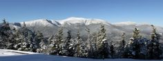 View of Mount Washington from Wildcat Mountain, NH..