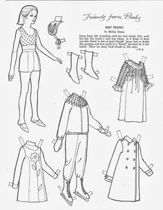 """Children's Friend - Friends from Books 1967 - """"Best Friend""""* Let's connect at social media Twitter #QuanYin5 YouTube QuanYin5 Linked In QuanYin5 Pinterest QuanYin5 * The International Paper Doll Society by Arielle Gabriel *"""