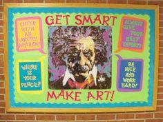 Bulletin Boards to Remember: Get Smart...Make Art!