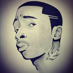 Sharpie & pencil #wiz #art