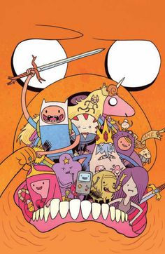 Adventure Time #6 (Cover C) by Dan Hipp.