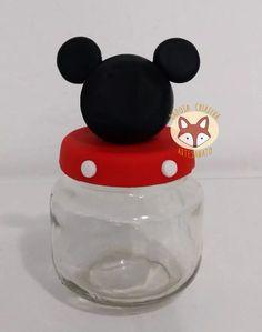 Pote De Papinha Tema Mickey Biscuit - R$ 6,90 em Mercado Livre