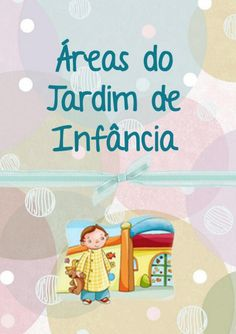 Cartazes para as áreas do Jardim de Infância