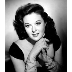 A young Betty White, circa 1940. She's so beautiful ...