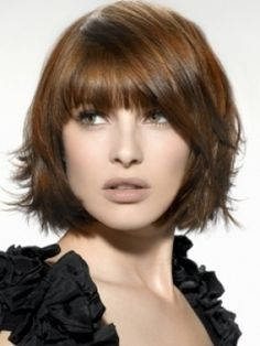 bob haircuts with bangs for oval faces | Women Hairstyles Ideas