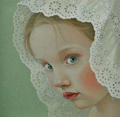 """Lace, side I"" -- by Jantina Peperkamp, Dutch *"