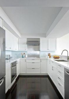u-form küche moderne minimalistische Einrichtung