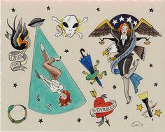 Pin Ups - Emma Munger Illustration