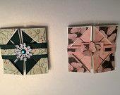 Small 3 x 3 Napkin fold cards