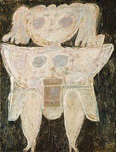 Jean Dubuffet: Woman Grinding Coffee (1995.142) | Heilbrunn Timeline of Art History | The Metropolitan Museum of Art