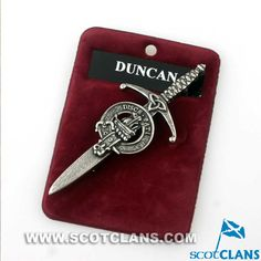 Clan Duncan (Camperdown) Crest Kilt Pin