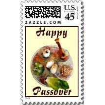 Happy Passover Postage