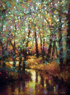 Forest Tapestry, Teresa Saia