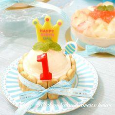 子供も食べれる1歳のお誕生日ケーキ【桃とヨーグルトのケーキ】                                                                                                                                                                                 More Baby Birthday, Birthday Parties, Birthday Cake, Birthday Photos, Party Gifts, Baby Food Recipes, Cake Toppers, To My Daughter, Food And Drink