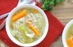 Your mom was right. You should eat chicken soup when you're sick. This age-old elixir combines many elements that help speed your recovery. The warm broth not only soothes your throat but helps you stay hydrated, too.