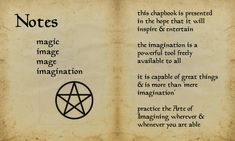 """Book of Shadows:  """"Book of Shadows 13 Page 9,"""" by Sandgroan, at deviantART."""