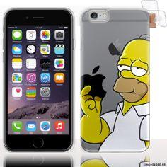 coque iphone 6 disney homer
